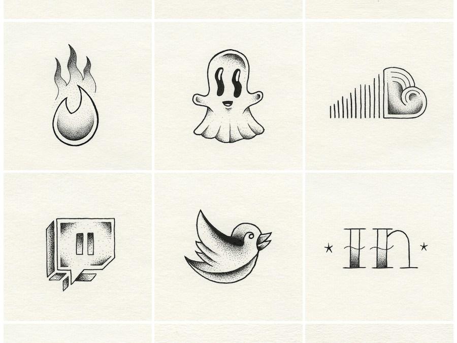 Les réseaux sociaux aiment les tattoos, mais est-ce que les tattoos aiment les réseaux sociaux ? ? #wearetattoo