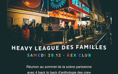 Rex Club Presente: Heavy League (29.12.18)