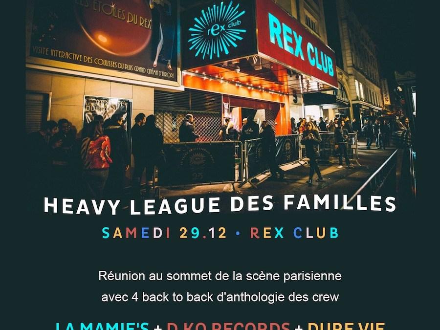 Rex Club Presente: Heavy League (29.12.18)