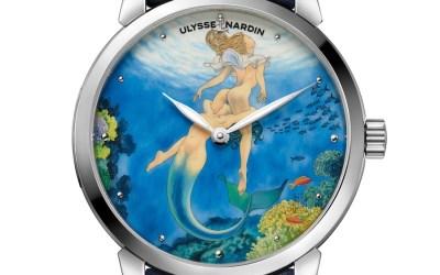 Ulysse Nardin x Milo Manara, montres voluptueuses et envoûtantes…