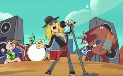 Axl Rose – Rock the Rock (New Looney Tunes)