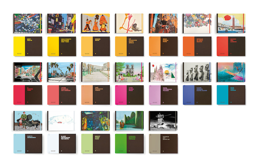 Louis Vuitton – Travel Book : Los Angeles par Javier Mariscal et  Séoul par Icinori