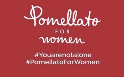 POMELLATO et DODO lancent un crowdfunding contre les violences domestiques : #YOUARENOTALONE et #POMELLATOFORWOMEN