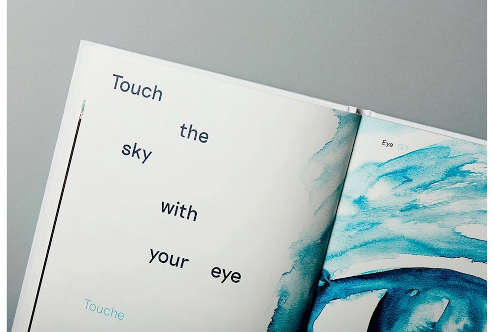 Touch the sky with your eye de David Horvitz