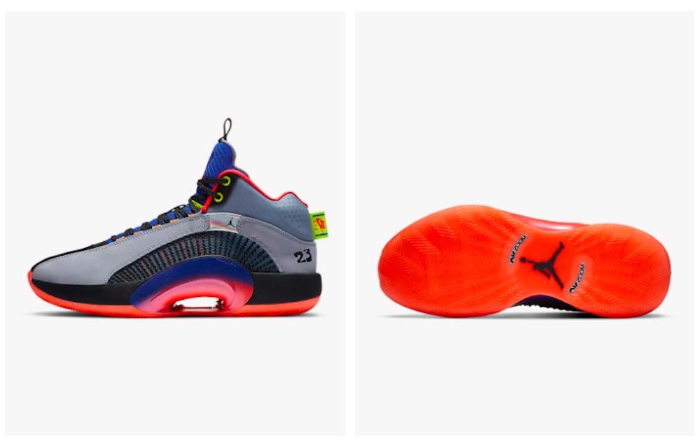 Air Jordan XXXV « Tech Pack »
