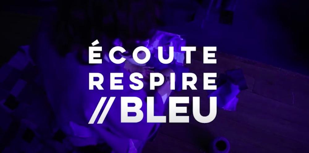 Seizième Nuit européenne des musées au musée national Marc Chagall  ÉCOUTE RESPIRE // BLEU par le collectif d'artistes 19 Boulevard Bouillon