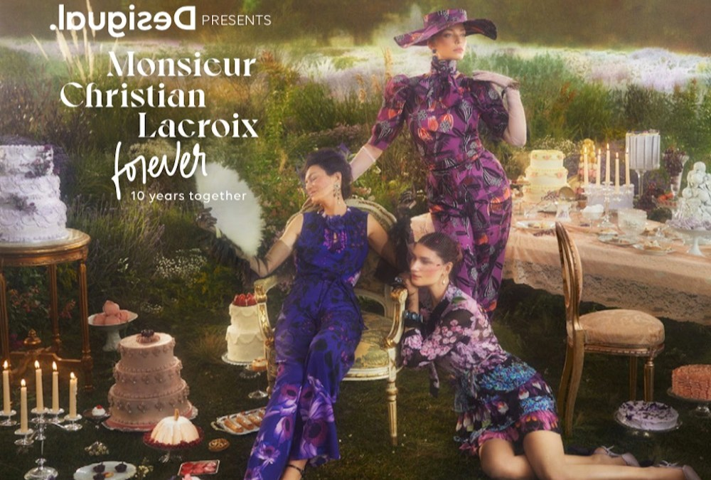 Desigual x Monsieur Christian Lacroix Forever: 10 years together | SS21