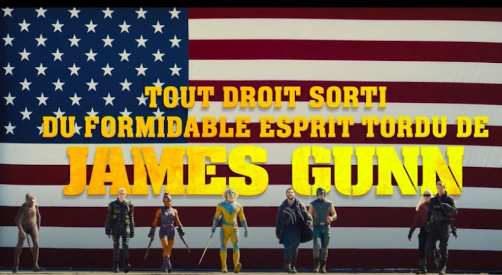 The Suicide Squad de James Gunn, avec Margot Robbie, Idris Elba, John Cena, Sylvester Stallone, Viola Davis