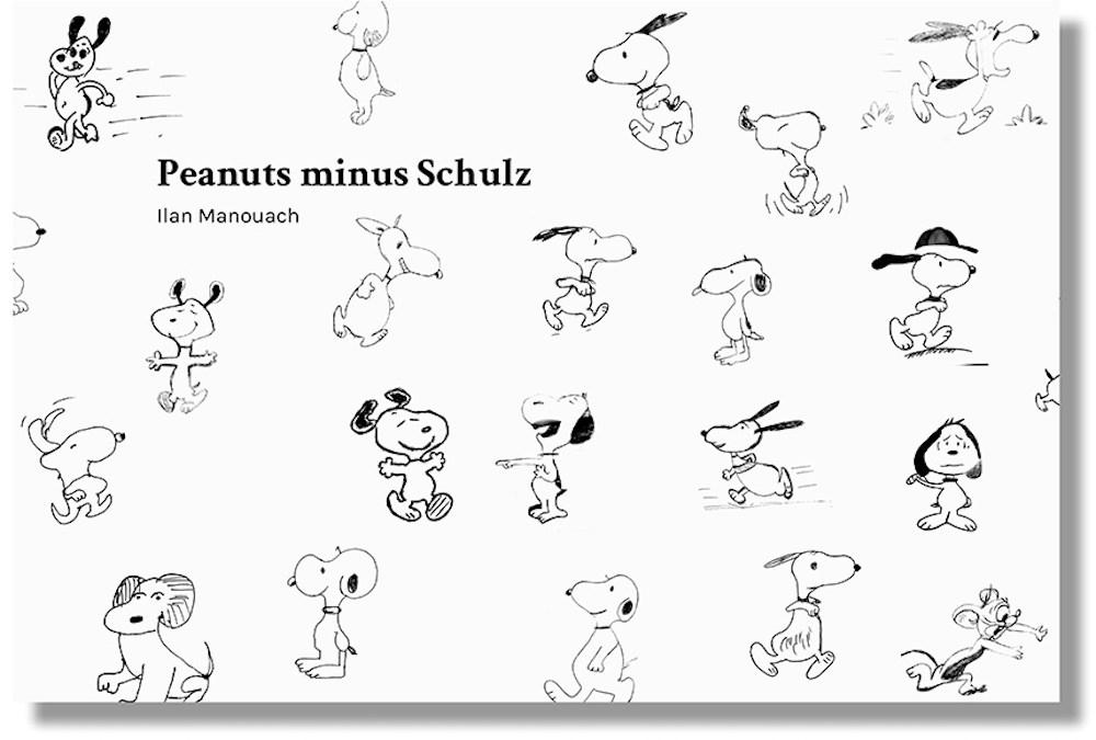 Peanuts minus Schulz de Ilan Manouach