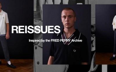 REISSUES : Des pièces originales inspirées des archives de Fred Perry