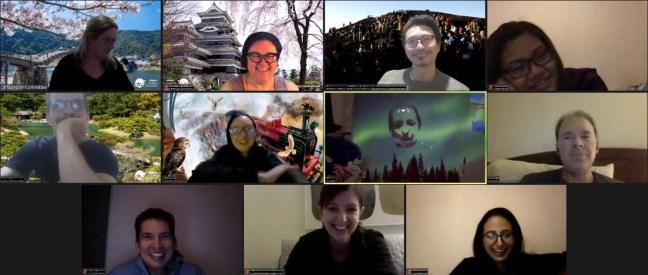 Online hangouts with JETAANSW