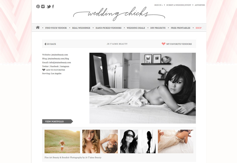 southern california beauty and boudoir photography, je t'aime beauty, glamour portrait photography, wedding chicks vendor guide