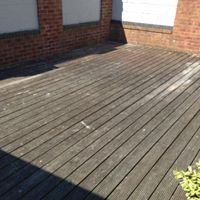 Decking: before