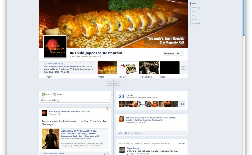 Facebook Timeline for Business Pages: A Review