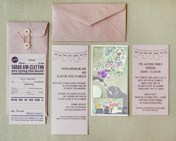 An Off The Strip Las Vegas Wedding Destination