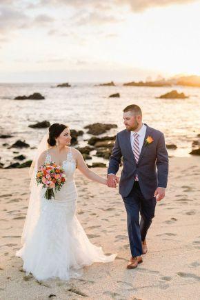 mariage sur la plage los cabos