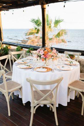 décor de table de mariage esperanza resort