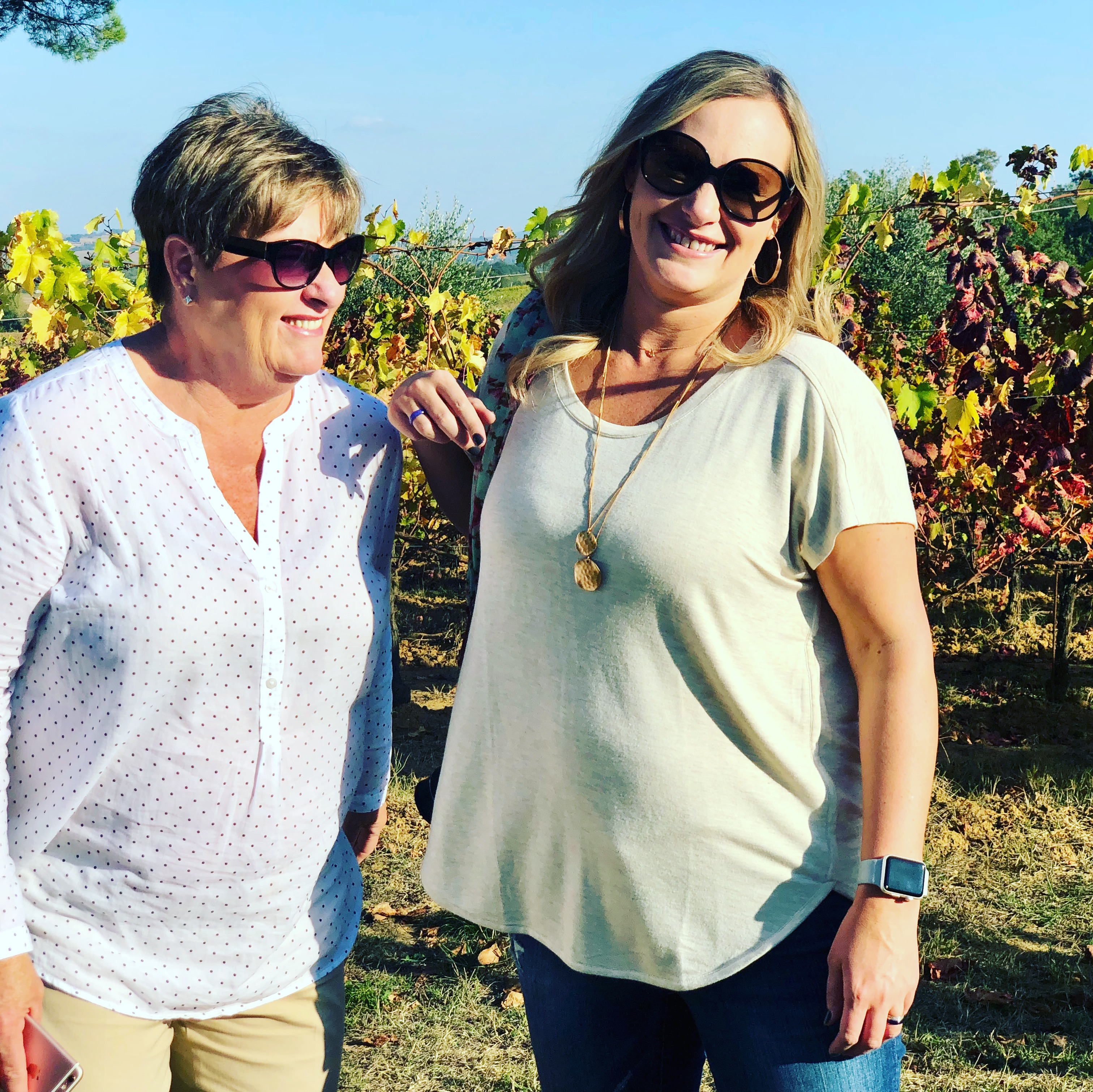 mother daughter Tuscany trip
