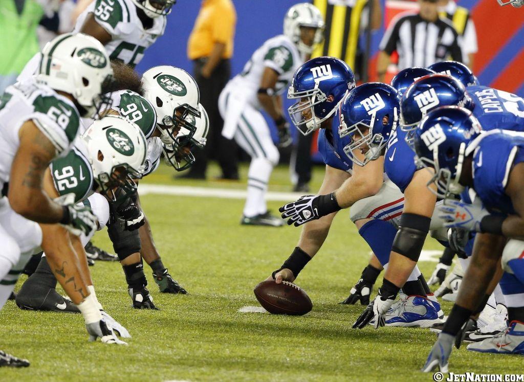 NY Jets vs NY Giants