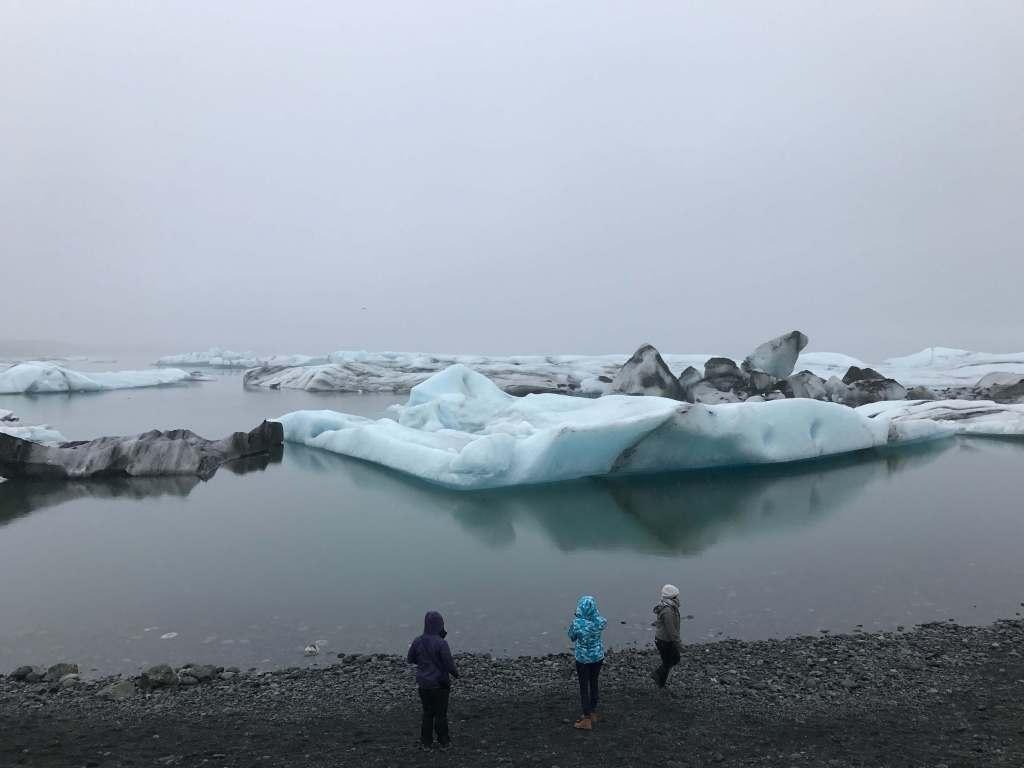 Large White Glaciers