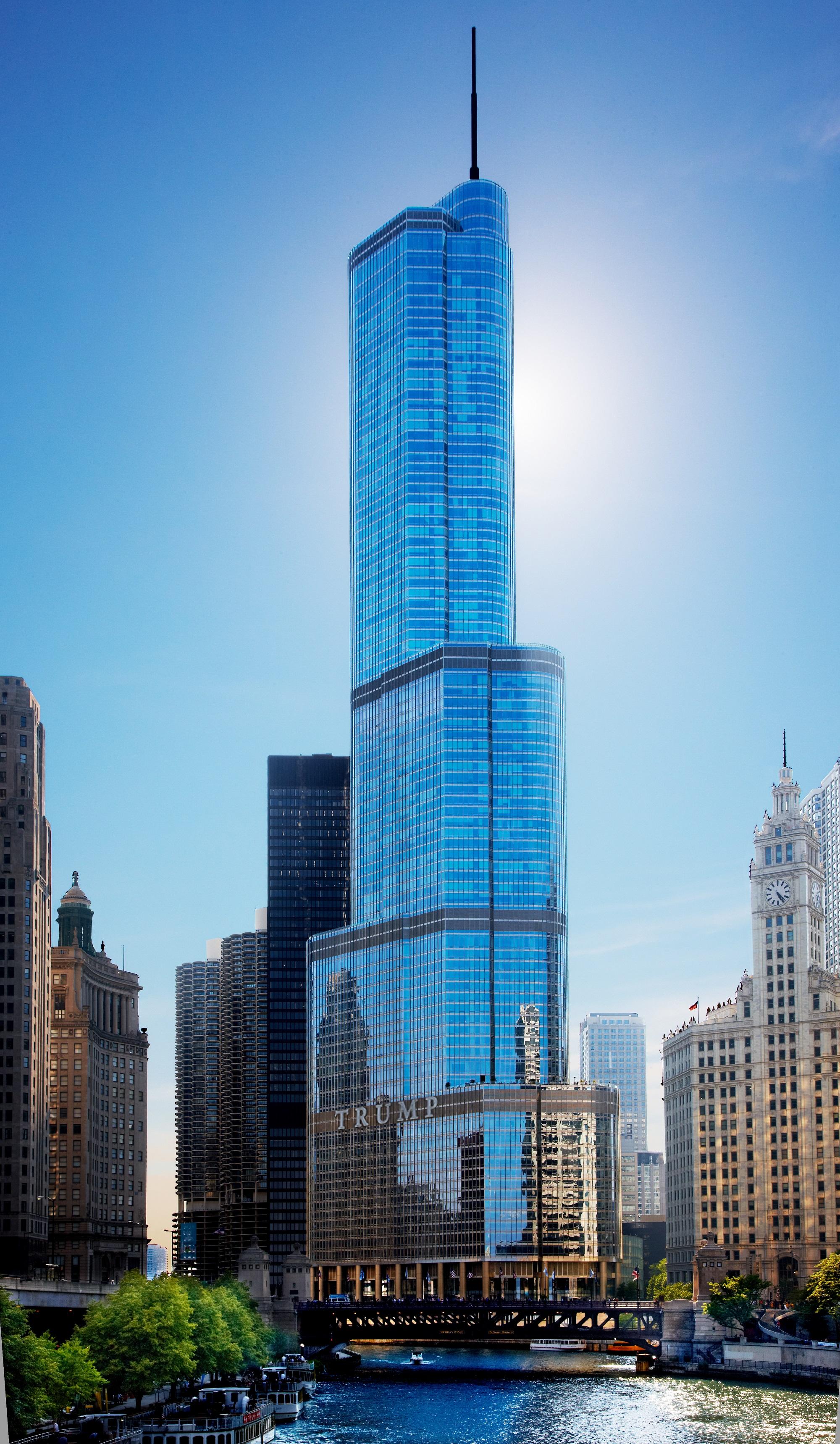 Stylish Elegance At Trump International Hotel Amp Tower Chicago