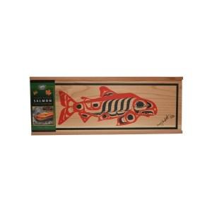 Cedar Box Salmon