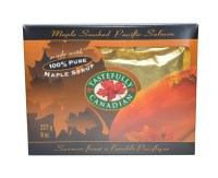 Pure Maple Smoked Wild BC Salmon Gift Box