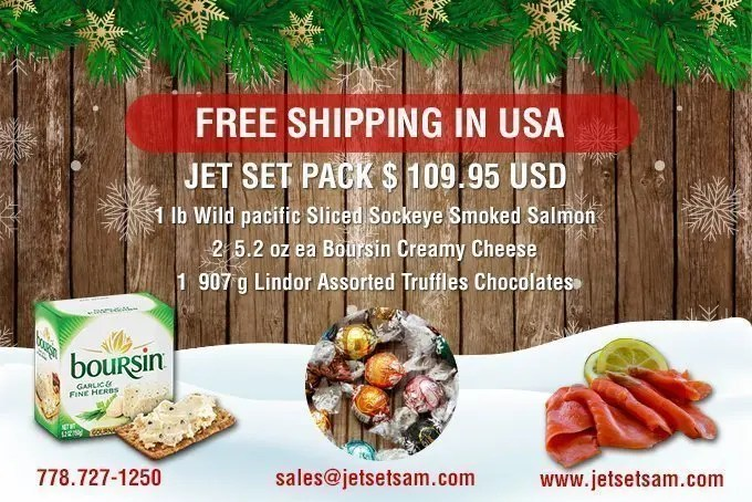 Jet Set Salmon Pack