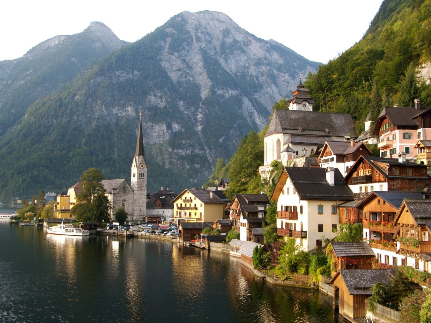Secret Getaways Trip Ideas mountain outdoor water Nature Town geographical feature landform Lake historic site mountain range house Village fjord human settlement tourism River alps monastery valley surrounded hillside Island