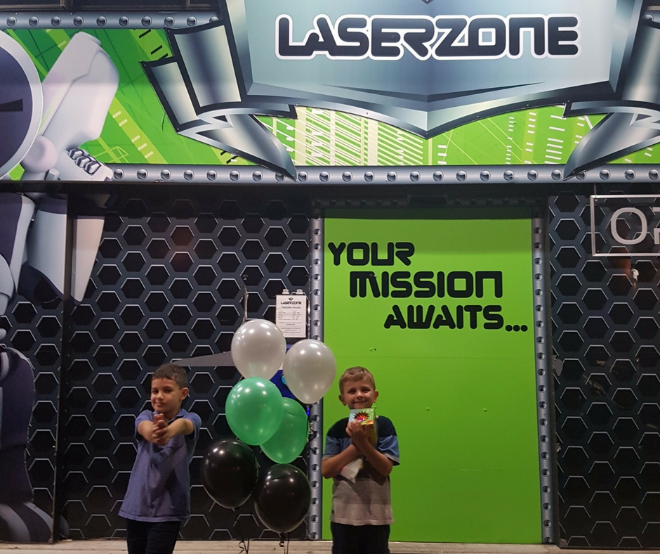 Laserzone for Active Kids – Here And At Sea