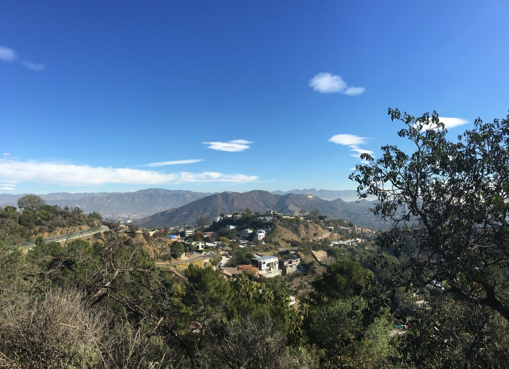 Hiking Runyon Canyon