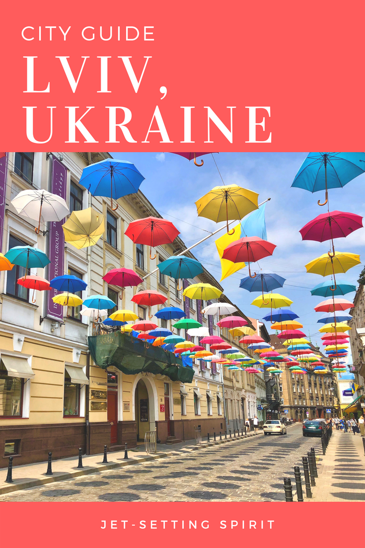 City Guide Lviv Ukraine | Jetsetting Spirit | Travel Lviv | Travel Ukraine | #travel #ukraine #lviv #cityguide