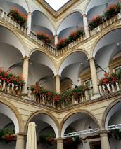 Italian Courtyard, Lviv, Ukraine
