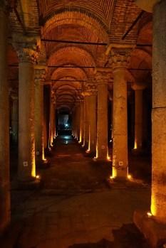 Basilica-Cistern, Istanbul, Turkey