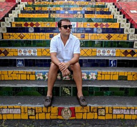 Escadaria Selarón Mosaic Steps Brazil