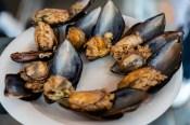 Stuffed-Mussels, Istanbul, Turkey