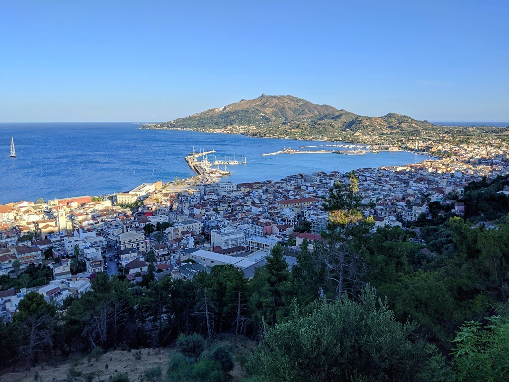 Zakynthos town: Bochali Area
