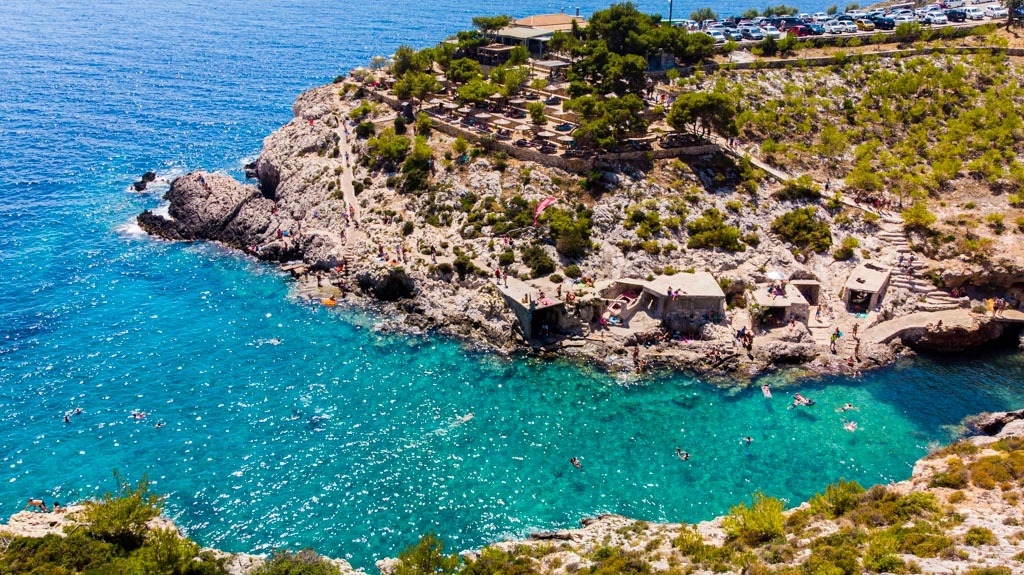 The Complete Guide To Zakynthos, Greece: Porto Limnionas Beach