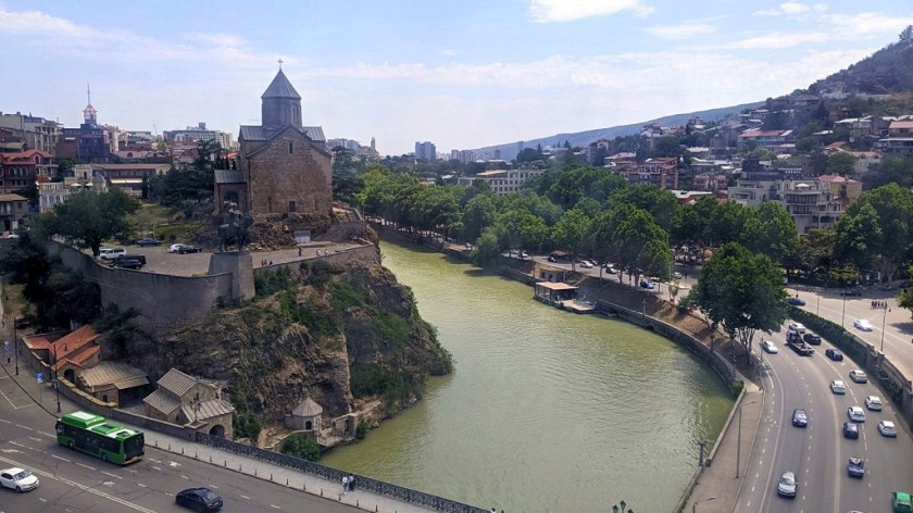 Guide to Tbilisi:: Take A Cable Car To Narikala Fortress