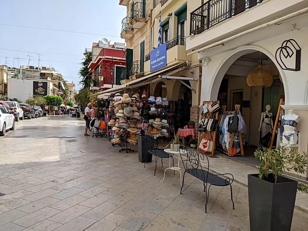 Shoppig street