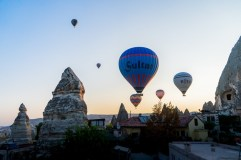 how to get to Goreme from the airport