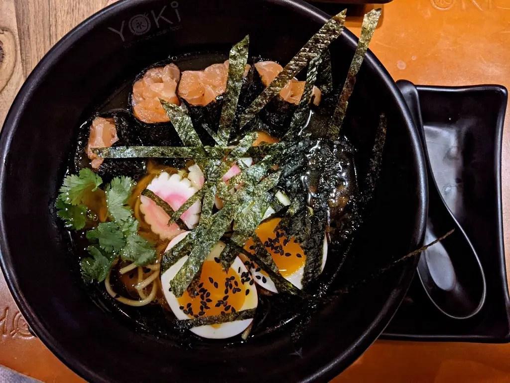 YOKI: Salmon ramen