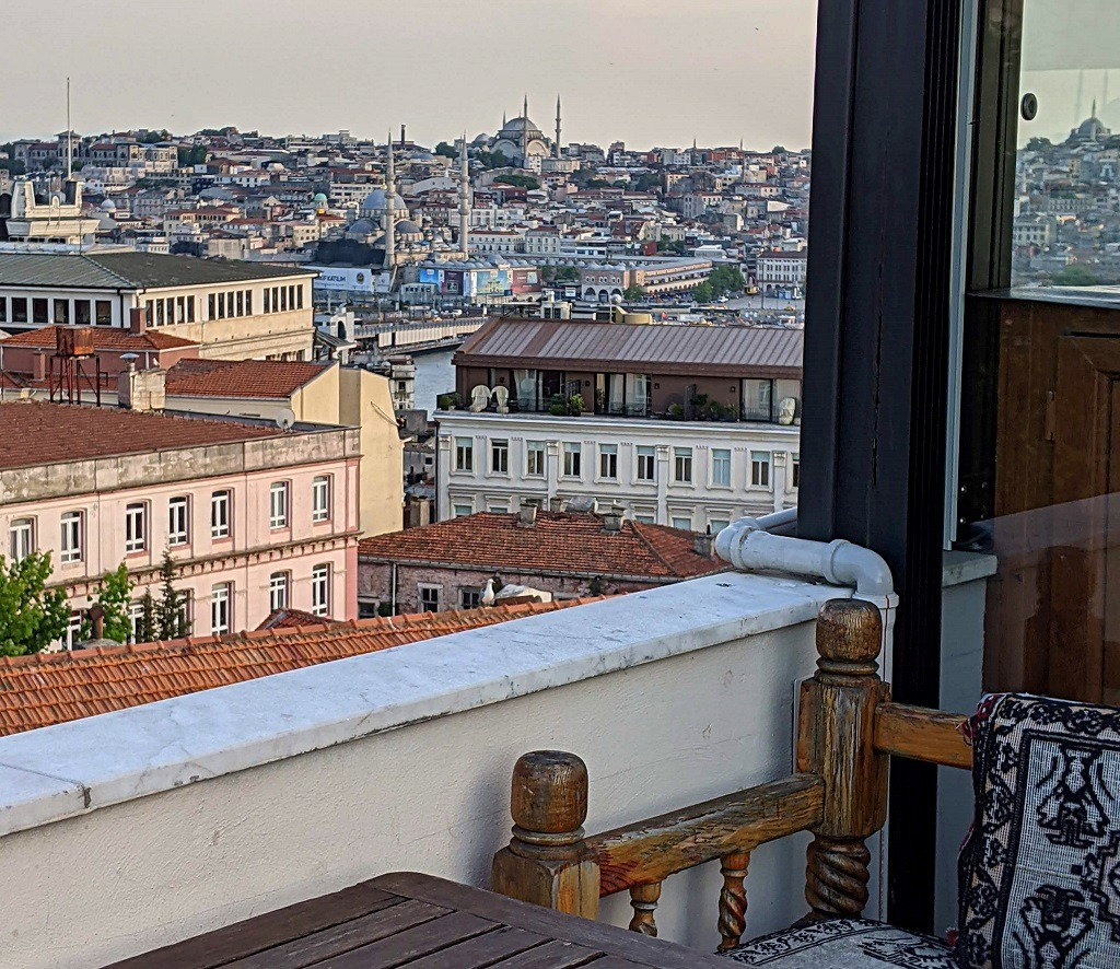 Galataport rooftop