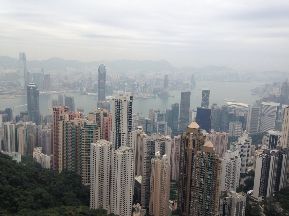 Hong Kong from Victoria Peak...absolutely unbelievable