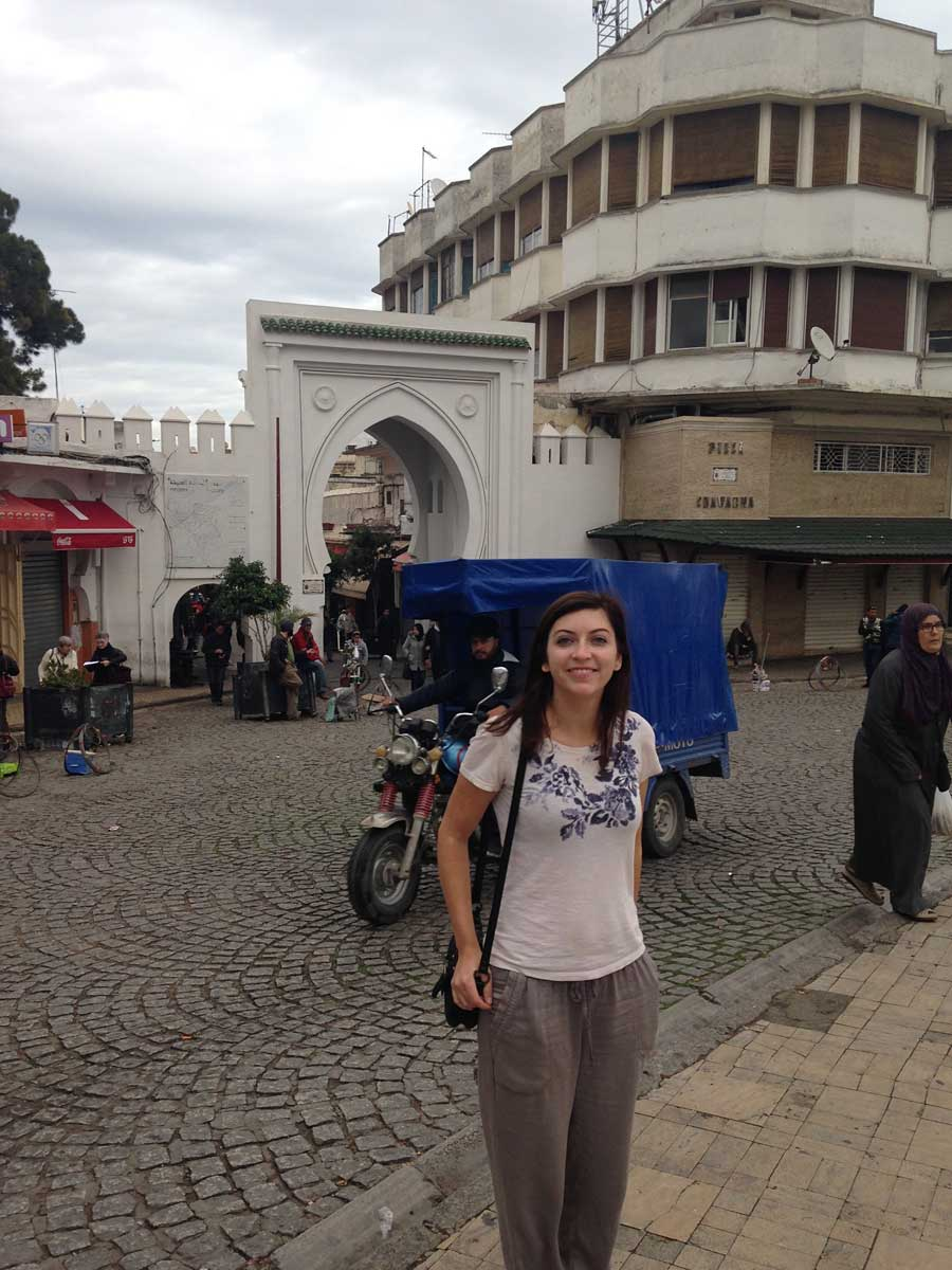 Tangier town square