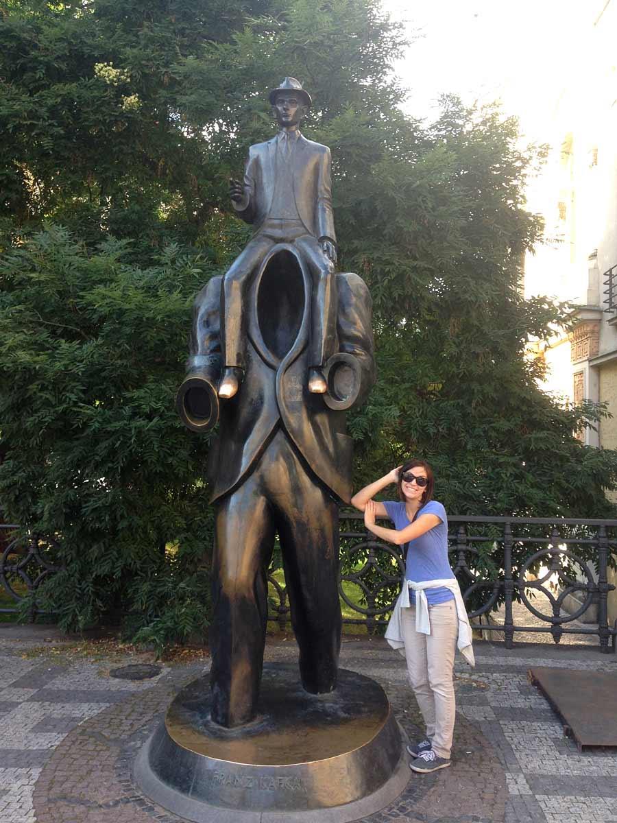 Prague sculpture