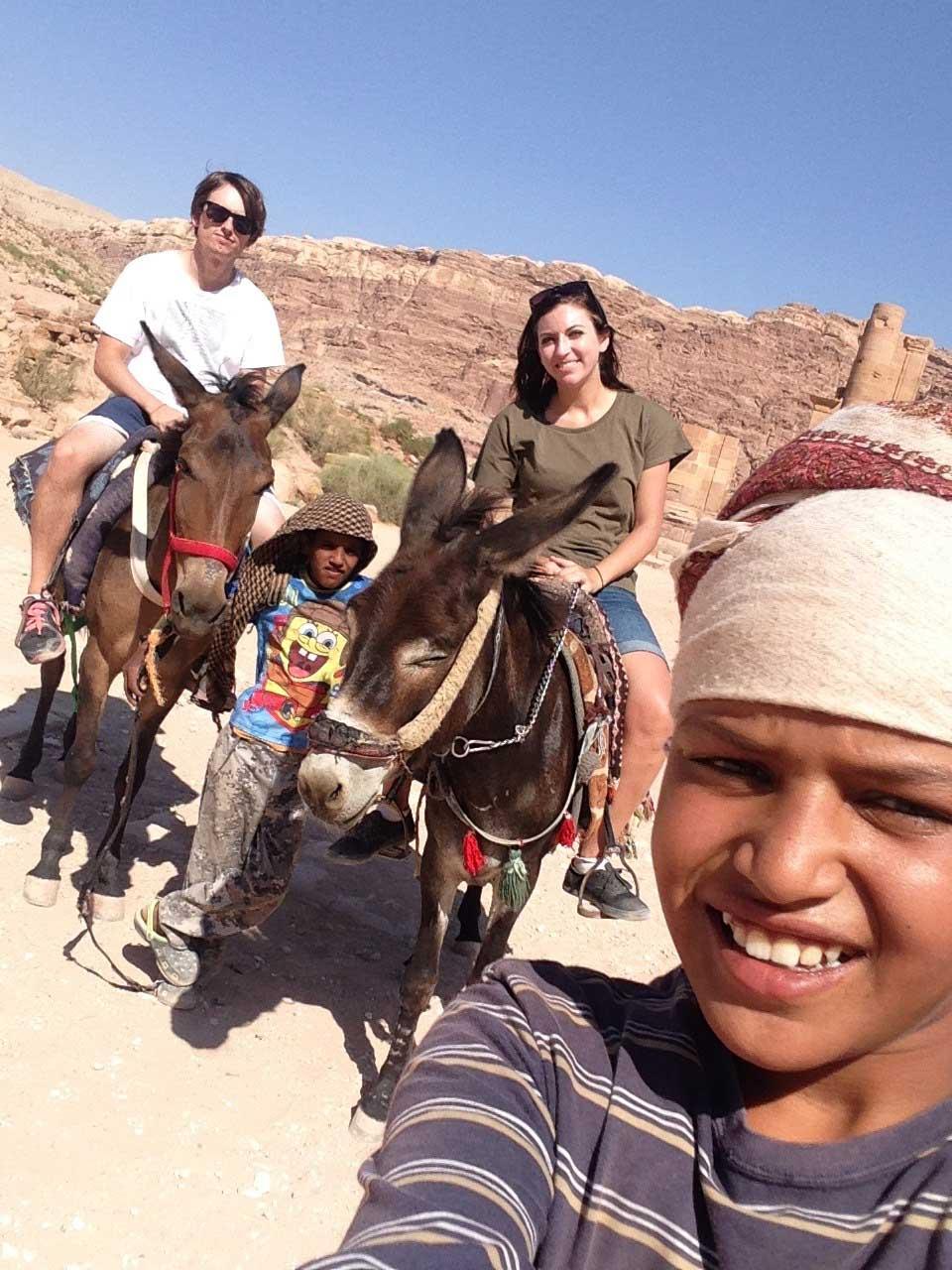 Jordan kids selfie 2