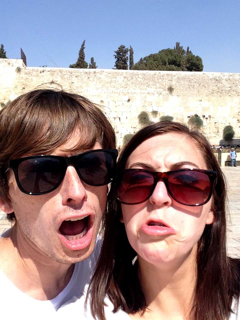 Gorgeous faces in Jerusalem