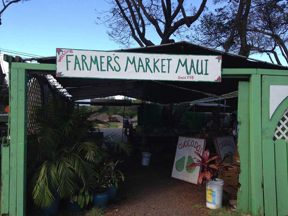Farmer's Market Maui