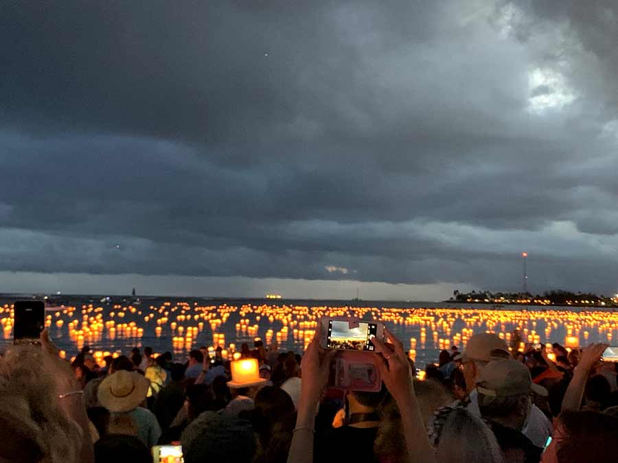 Shinnyo Lantern Floating Hawaii